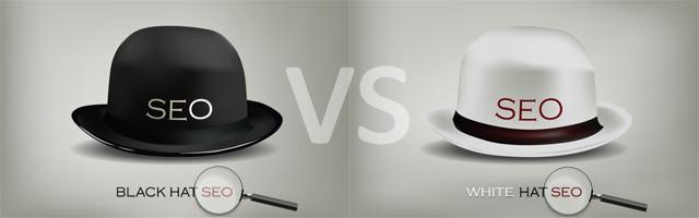 مقایسه سئو کلاه سفید و کلاه سیاه