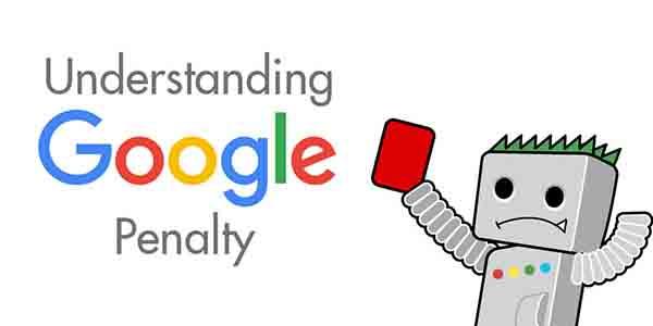 پنالتی شدن در گوگل