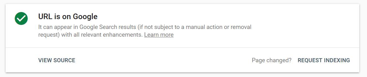 آموزش ایندکس کردن لینک در نسخه جدید وبمستر گوگل